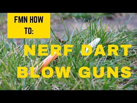 FMN How to: Nerf Dart Blowgun
