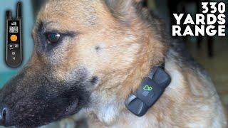 DOG CARE Dog Training Collar with 3 Modes & 330 Yards Range
