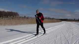 Cross Country Skiing in Savonlinna Finland