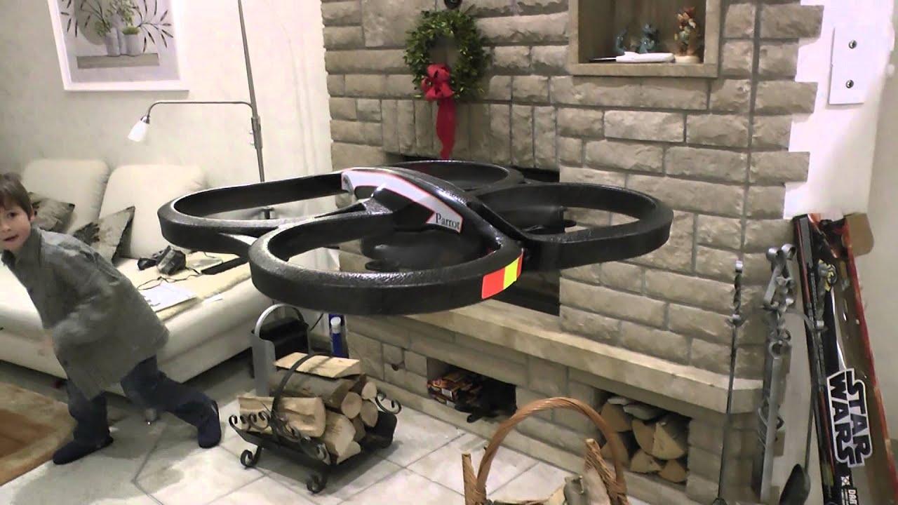 heiligabend 2012 mit probeflug drohne parrot ar drone 2 0 bei tubehorst1 youtube. Black Bedroom Furniture Sets. Home Design Ideas