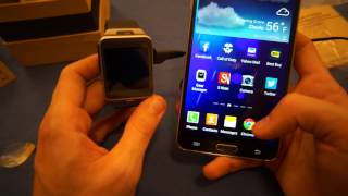 Samsung Gear 2 Unboxing video and how to Setup