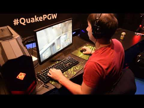 ESWC 2017 Quake Champions - base playing