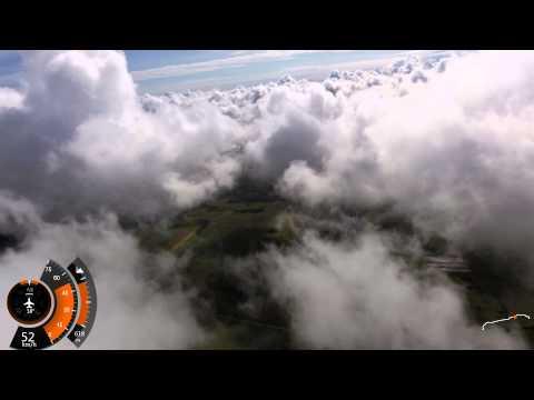 Paramotor - Lot PPG z Leszkiem i chmury