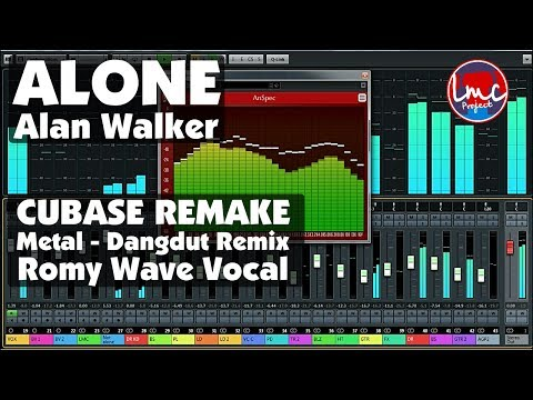 Alone - Alan Walker [Metal Dangdut] CUBASE REMAKE