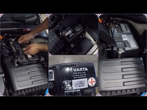 Golf 7 Battery Replacement  Remove | 1030 TL''lik Akü Değişimi |  AGM | Start & Stop