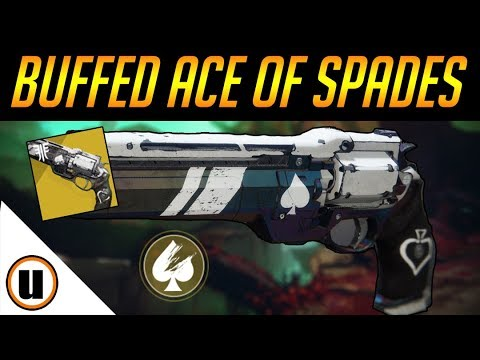 EVEN BETTER NOW! | Buffed Ace Of Spades | Destiny 2 Black Armory thumbnail