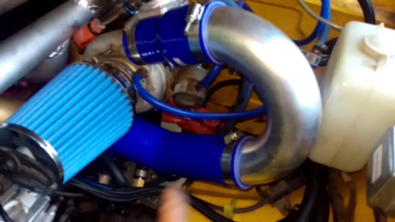 Daihatsu Rocky high mount Turbo overview