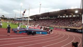 Pawel Wojciechowski .Men's Pole Vault5,73m. Lausanne 06.07.2017.Diamond League.Skok o tyczce.