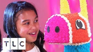 EPIC Piñata Cake for DJ Themed Party | Cake Boss