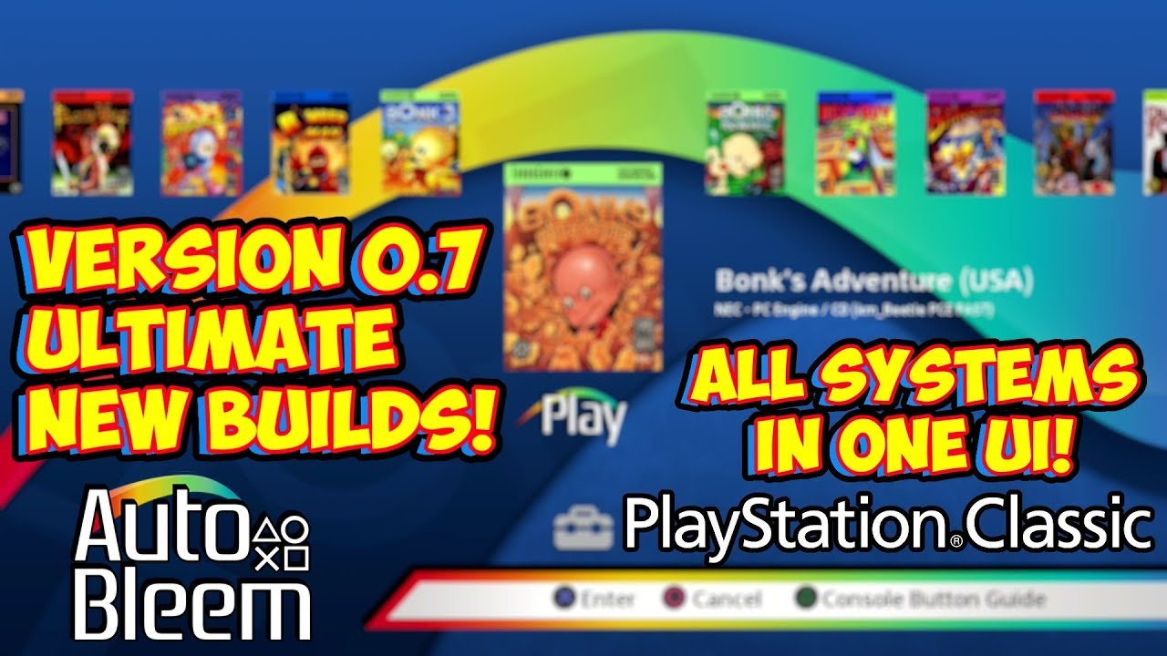 AutoBleem Version 0 7 Released! Ultimate PlayStation Classic Hack