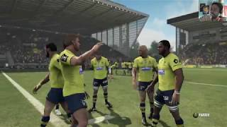 ASM CLERMONT - RACING 92 : Rugby Challenge 3