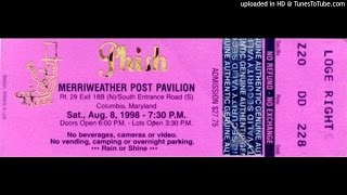 "Phish - ""Sneaking Sally Through the Alley"" (Merriweather, 8/8/98)"