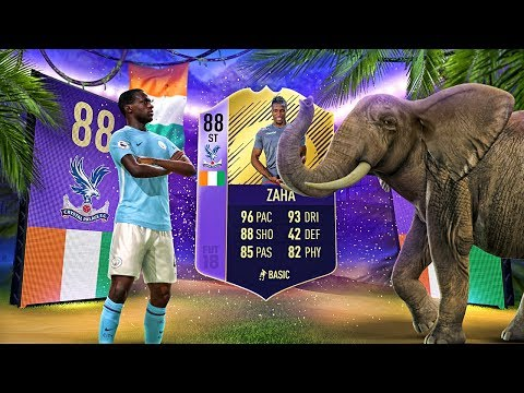 OMG 88 PLAYER OF THE MONTH ZAHA! THE BEST AFRICAN SQUAD IN FIFA! FIFA 18 ULTIMATE TEAM