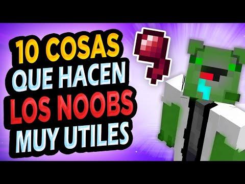 ✅ 10 Cosas de Noobs ÚTILES en Minecraft!! #2