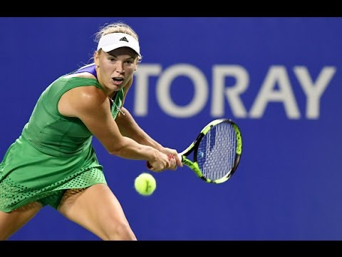 2016 Toray Pan Pacific Open Second Round | Caroline Wozniacki vs Suarez Navarro | WTA Highlights