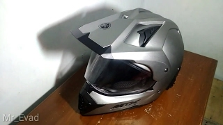 Unboxing & review helm MTX Yamaha