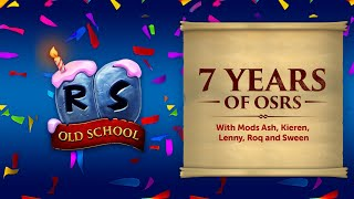 7 Years of OSRS Retrospective - Old School RuneScape's 7th Birthday!