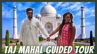 TAJ MAHAL, INDIA TOUR   AGRA FORT PRIVATE TOUR VLOG