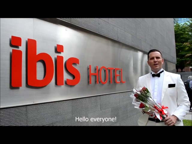 Celebrating Valentines Day at ibis Bencoolen!