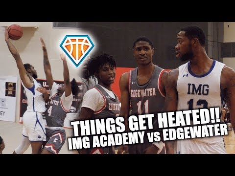 THINGS GET HEATED Between IMG Academy & Edgewater + The ALMOST Dunk of the Year!! | Sun Bash Tourney