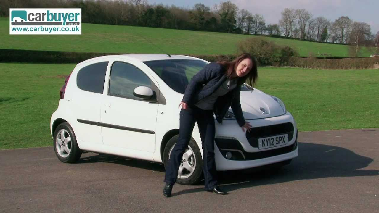 Peugeot 107 hatchback review - CarBuyer - YouTube