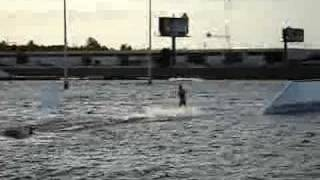 Wakeboarding wipeout ouch
