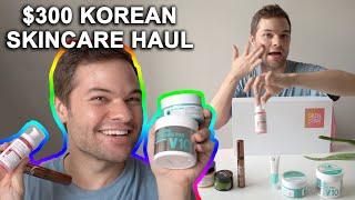 $300 Korean Skincare Haul! Unboxing New K Beauty Favorites with SkinStarBox