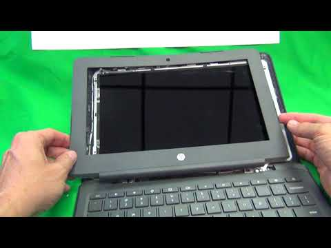 HP Chromebook 11 G6 EE Touch and Non-touch Screen Replacement Procedure