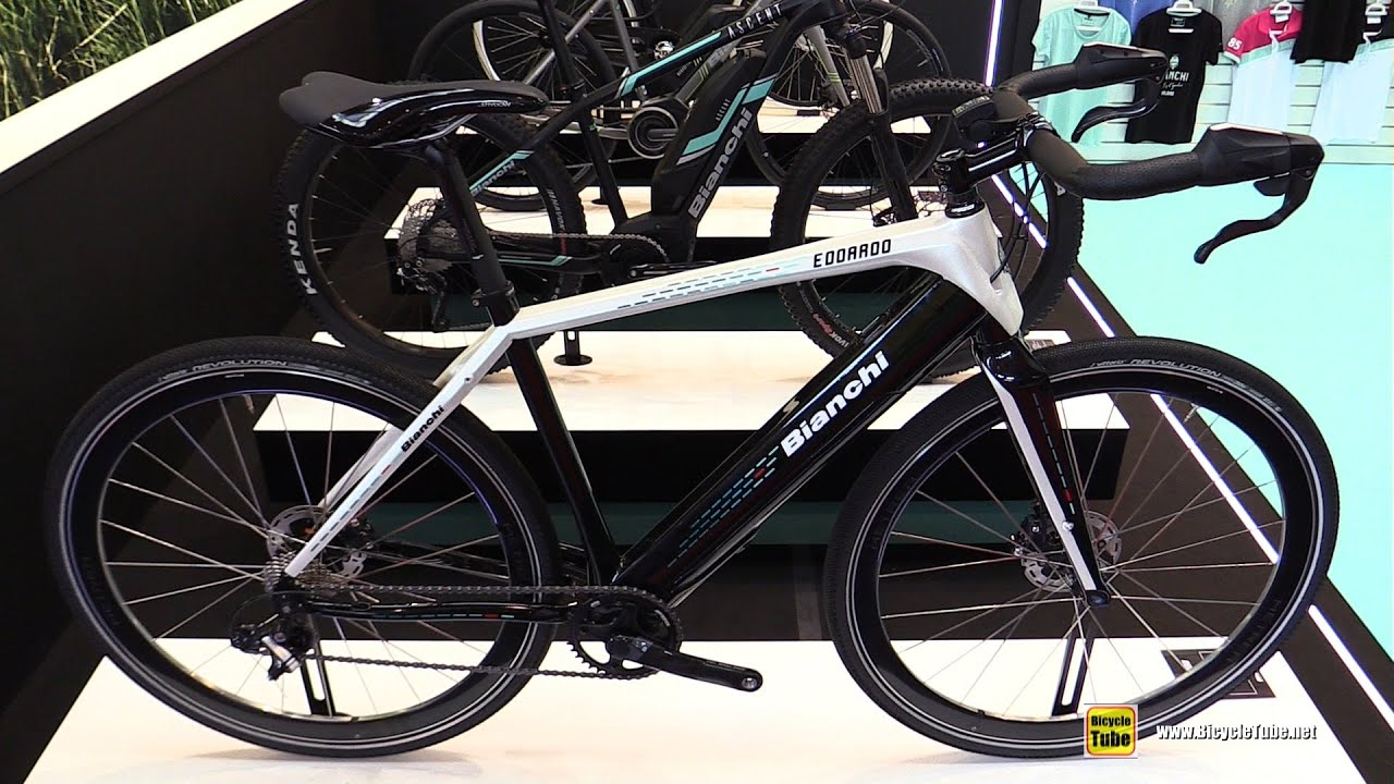 70a43043a47 2017 Bianchi E-Doardo Electric Bike - Walkaround - 2016 Eurobike ...