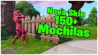 SHOWING THE * NEW * SKIN KING FLAMINGO & 150 + BACKPACKS | FORTNITE