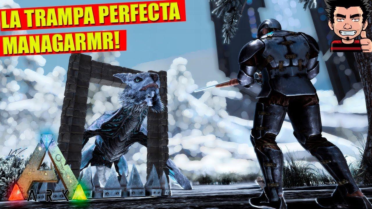 Download TRAMPA PERFECTA! COMO DOMESTICAR MANAGARMR EXTINCTION ARK SURVIVAL EVOLVED ESPAÑOL