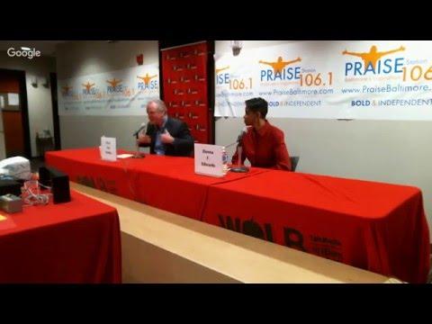 WOLB/Praise 106.1: Live Maryland Senatorial Forum
