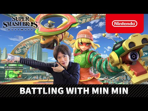 Super Smash Bros. Ultimate – Battling with Min Min (Nintendo Switch)