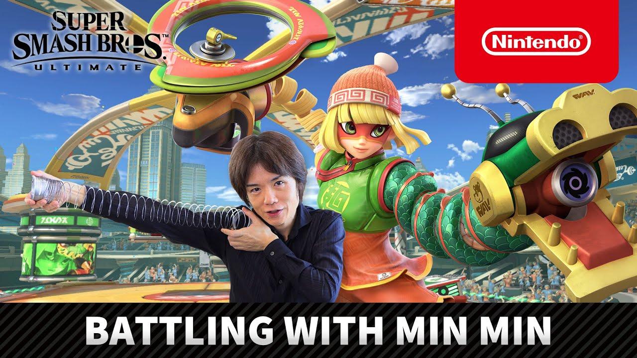 Super Smash Bros. Ultimate – Battling with Min Min (Nintendo ...
