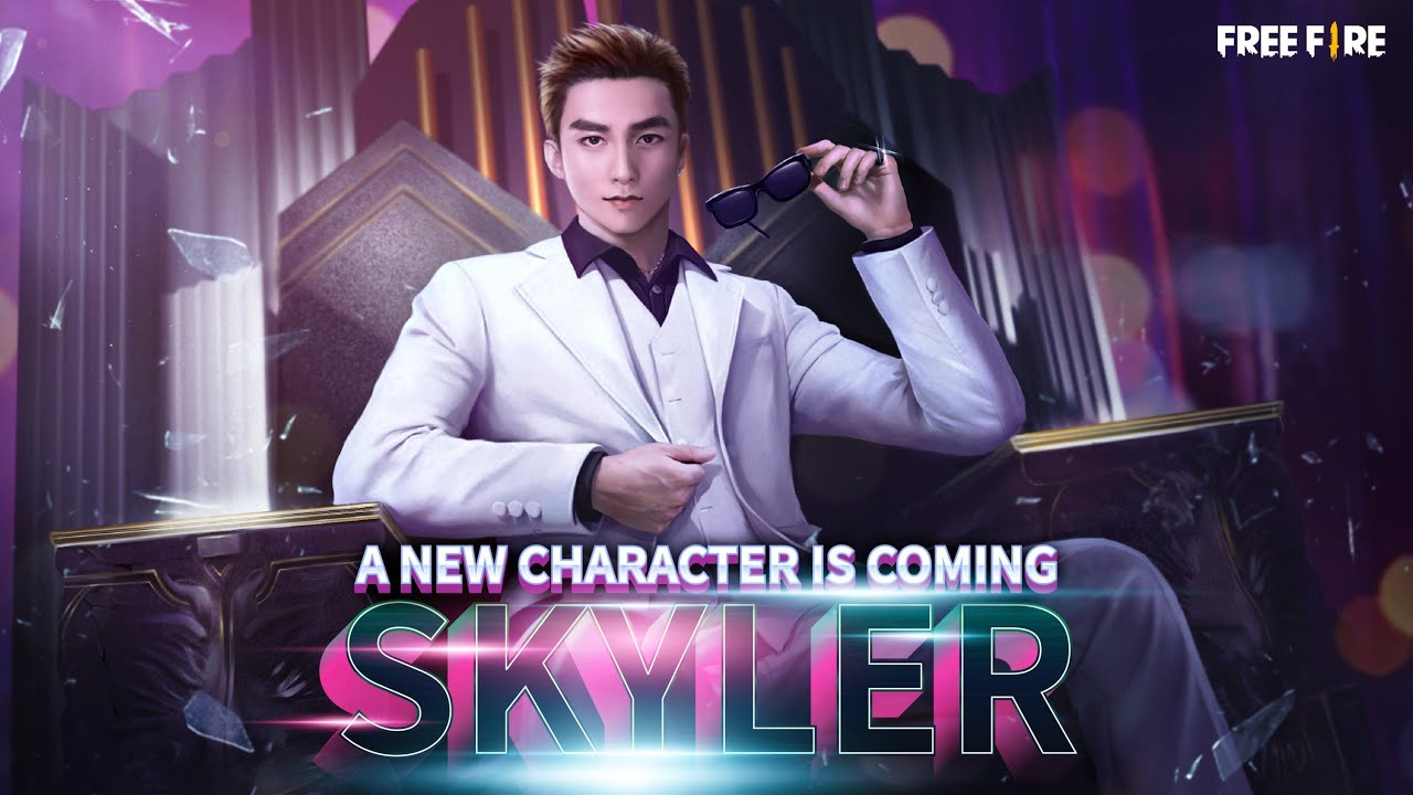 A New Character is Coming - Skyler | Garena Free Fire