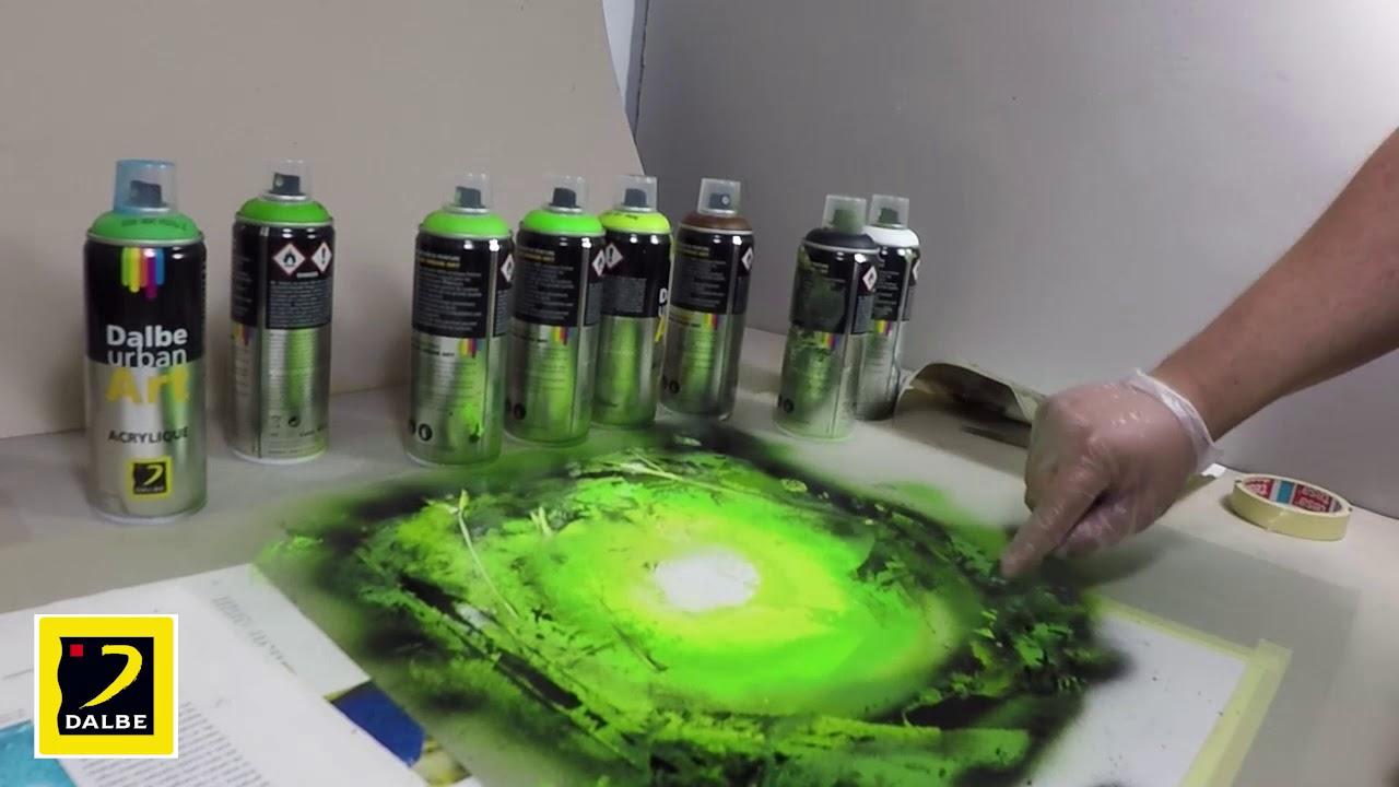 Parfait Urban Art 02 Peindre Un Paysage Forestier à La Bombe