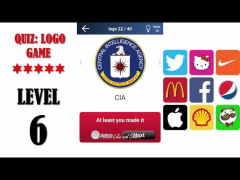 Quiz: Logo Game Level 6 - All Answers - Walkthrough ( By Lemmings at work )