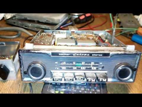 Vintage auto radio Becker Europe
