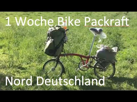 1 Woche Bike Packraft Nord Deutschland/ one week bike packraft tour in germany