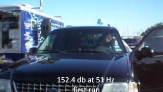 "Merlon Audio six 12""subs does 162.4 db at 2012 Spring Break Jam"