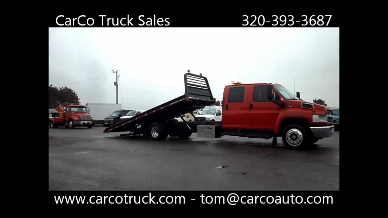 Chevrolet Crew Cab Jerr-Dan Rollback Tow Truck for Sale By ...