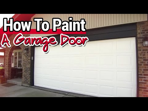 7 Easy Steps To Paint A Garage Door