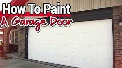 How To Paint A Garage Door - Ace Hardware
