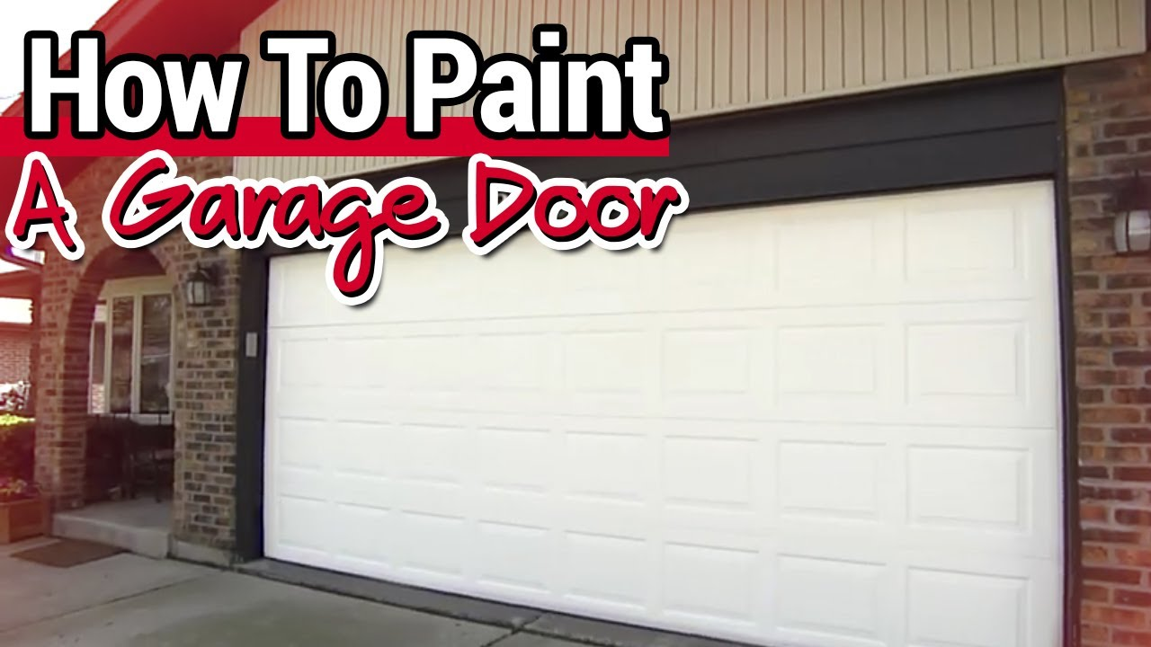 How To Paint A Garage Door Ace Hardware You