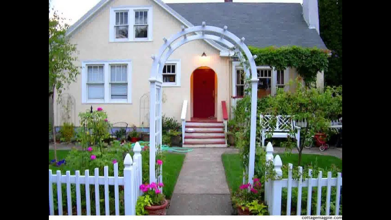 Small Home Picket Fence For Garden Ideas Youtube