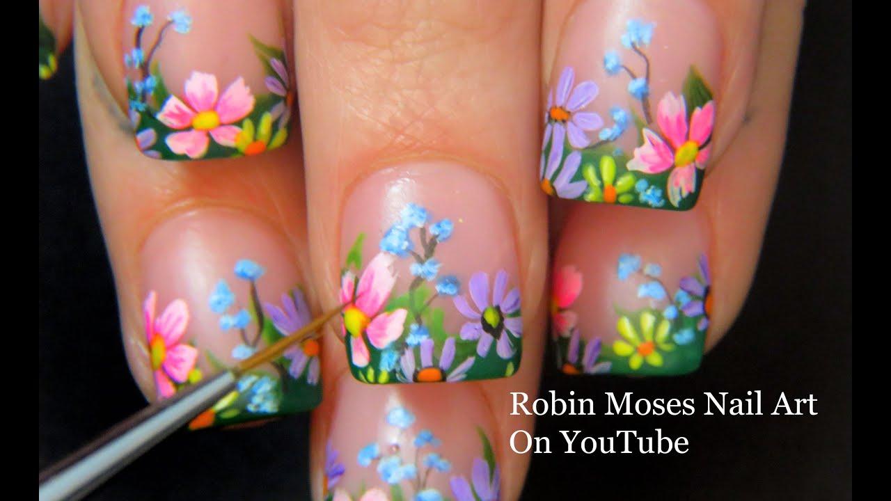 Spring Robin Moses Nail Art
