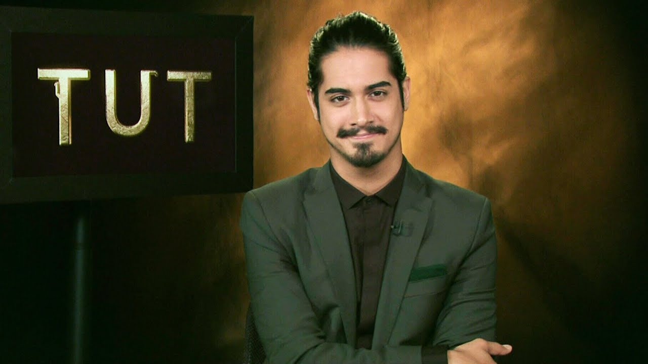 Not Easy Being King Avan Jogia On Taking Role Of Tut  YouTube