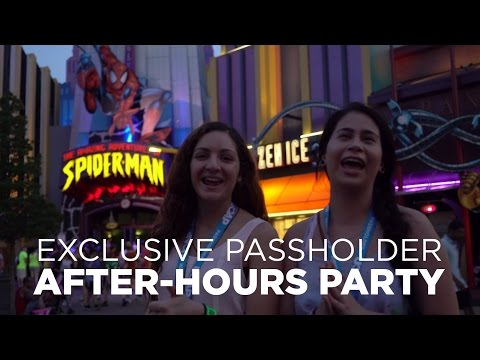 Exclusive Passholder After-Hours Party Overview