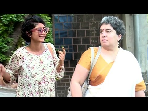 Aamir Khan's FIRST Wife Reena Dutta & Current Wife Kiran Rao Vote At Same Polling Booth In Mumbai