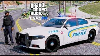 GTA 5 LSPDFR Police Mod #622 Jupiter Police Department - Florida Patrol